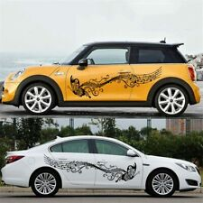1 Set Butterfly And Flower Decal Stickers Hood Decal Car Body Universal Sticker
