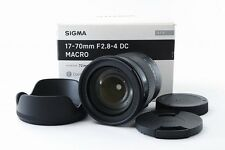 VeryGood Sigma 17-70mm f2.8-4 DC MACRO Contemporary lens for canon