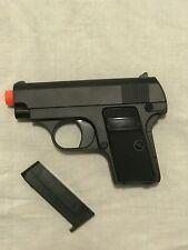 Airsoft Gun Black Spring Powered Pistol BBs G1