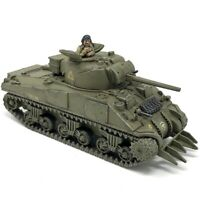 Painted 28mm Sherman V Plastic WW2 Tank Warlord Games Bolt Action