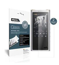 2x Sony nw-zx300 (mp3-Player) lámina protectora mate-tanques diapositiva 9h lámina dipos