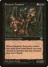 Serpent Assassin Portal NM Black Rare MAGIC THE GATHERING MTG CARD ABUGames