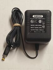 Genuine Oem Amigo Am-91000A Ac /Ac Adapter Charger 9 Vac 1000 mA A5.7