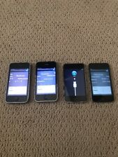 Lot of 4 Apple iPhone 3GS 32GB/16GB AT&T iPod Touch/iPod Touch 4th Gen AS IS