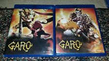 Garo - Season 1 : Parts 1 & 2 - Blu-rays Only * NO DVDS*