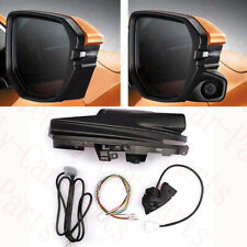 1Set For Honda Civic 2016-2017 Right Passenger RearView Mirror Cover Blind Area