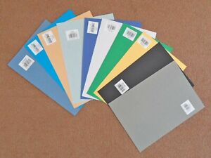 Daler Rowney A4 Murano Paper. 10 x sheets all different colours.