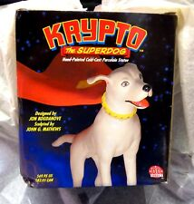 Krypto Statue The Superdog New 2002 Factory Sealed Cold Cast PorcelainDC Direct