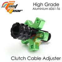 Green Clutch Cable Adjuster Fit Kawasaki Ninja ZX-10R (ZX1000) 04 05 06