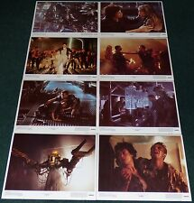 ALIENS 1986 ORIGINAL U.S. LOBBY CARD SET OF 8 SIGOURNEY WEAVER JAMES CAMERON