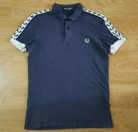 Fred Perry Polo T Shirt Top Short Sleeves Size S