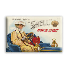 "Shell Blechschild ""Kindred Spirits - Shell Motor Spirits"", NEU/OVP, 29,5 x 21 cm"