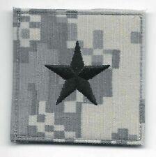 """2""""x2"""" ACU US Army O-7 O7 BG Brigadier General Rank Insignia Hook Fastener Patch"""