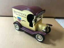 """Hershey's, 1912 Ford Model """"T"""" Delivery Truck Die-Cast, Gearbox  , Coin Bank"""