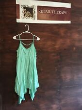 NWOT Sweet Claire Spaghetti Strap Dress Mint S