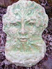 Green man bird feeder mold plaster concrete mould