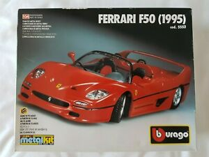 Ferrari F50 (1995) Burago Metal Kit