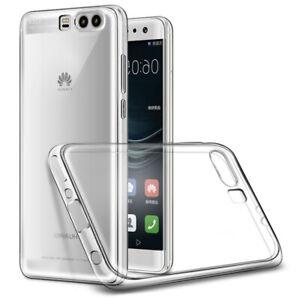 Hülle für Huawei P10 2018 Schutzhülle Silikon Slim Case Transparent Dünn
