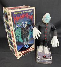 60's Galoob MOD MONSTER BLUSHING FRANKENSTEIN In Box Halloween Battery Toy WORKS