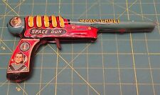 "Tom Corbett Space Cadet Tin Lithograph Space Ray Gun 10"" Marx Toys 1950'S"