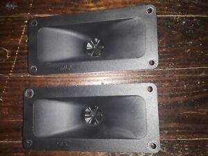 2 Vintage MTX / Motorola 601 Horn Tweeters (from AAL 1540) - Tested
