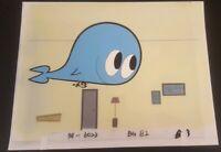 POWERPUFF GIRLS Animation Cel Original Production Art Cartoon Network Buttercup