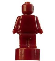 Lego kleine Statue in dunkel rot einfarbig Trophäe Pokal 90398 Architecture Neu