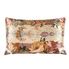 New 100% silk oxford pillowcase soft pillow shams floral pillow case two sizes