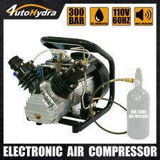 4utohydria Air Pump 4500psi High Pressure Pcp Filling Air Compressor