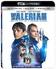 VALERIAN & THE CITY OF THOUSAND (4K ULTRA HD) - Blu Ray -  Region free