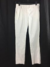 Red Valentino Pants Womens 27 x 27 Valentino Spa Straight Leg Cotton White