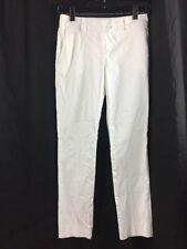Red Valentino Womens 27 x 27 Valentino Spa Straight Leg Cotton White Pants