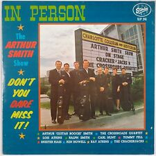 ARTHUR GUITAR BOOGIE SMITH: In Person STARDAY USA Orig VINYL LP Rockabilly