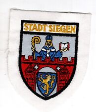 Écusson Patchs Armoiries Ville Siegen Nordrhein-Westfalen