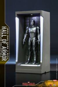 Hot Toys  Iron Man MARK II MK2 Figure MMSC006 w/ Display Box Case Hall of Armor