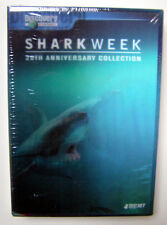 DISCOVERY CHANNEL - SHARK WEEK COLLECTION (DVD, 2007, 4-DISC SET) - NEW & SEALED