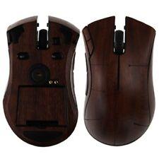 Skinomi Gaming Mouse Protector Skin Dark Wood Full Body Cover for Razer Mamba