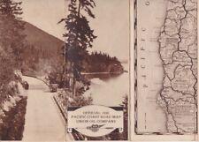 New ListingOfficial 1930 Pacific Coast California Road Map - Union Oil Company