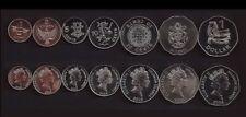 SOLOMON ISLANDS COMPLETE COIN SET 1+2+5+10+20+50 Cents +1 Dollar 2005 UNC LOT 7