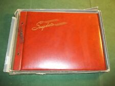 Vintage NOS Samuel Ward Photograph Photo Snapshot Album Large Format