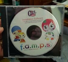 Girl Tech F.A.M.P.S Installation Software (Disc only)  PC GAME - FREE POST