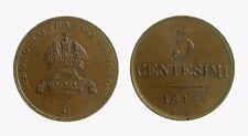005) LOMBARDO VENETO FERDINANDO I 1835-1848 - 5 CENTESIMI 1843 MILANO