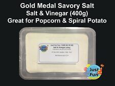 Gold Medal Salt and Vinegar Seasoning for Popcorn Machines (400g)