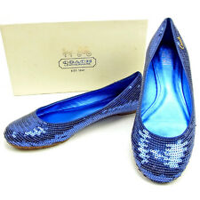 Auth COACH Pumps Sequin Women''s used Y6758
