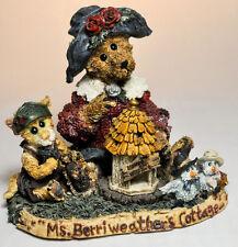 Boyds Bears: Mrs Berriweather's Cottage - 1st Edition 1E/4167 # 1998-41