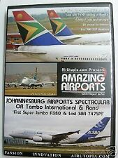 Airlines DVD - AMAZING AIRPORTS - JOHANNESBURG SOUTH AFRICA