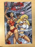 Notti & Nyce Menage A Trois #5 B NICE Variant Cover by Clint Hilinski