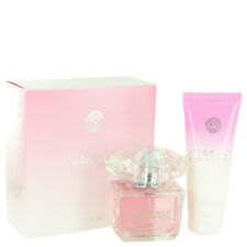 Bright Crystal by Versace Gift Set EDT Spray + Body Lotion Perfume for Women