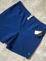 RALPH LAUREN POLO NAVY CLASSIC SRL PREPSTER SWIMSHORTS SHORTS - L - NEW & TAGS