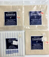 Mcg 4 Textiles 14 Count Fid Weave 8.5 Count Tear Away Waste Cross Stitch Fabric